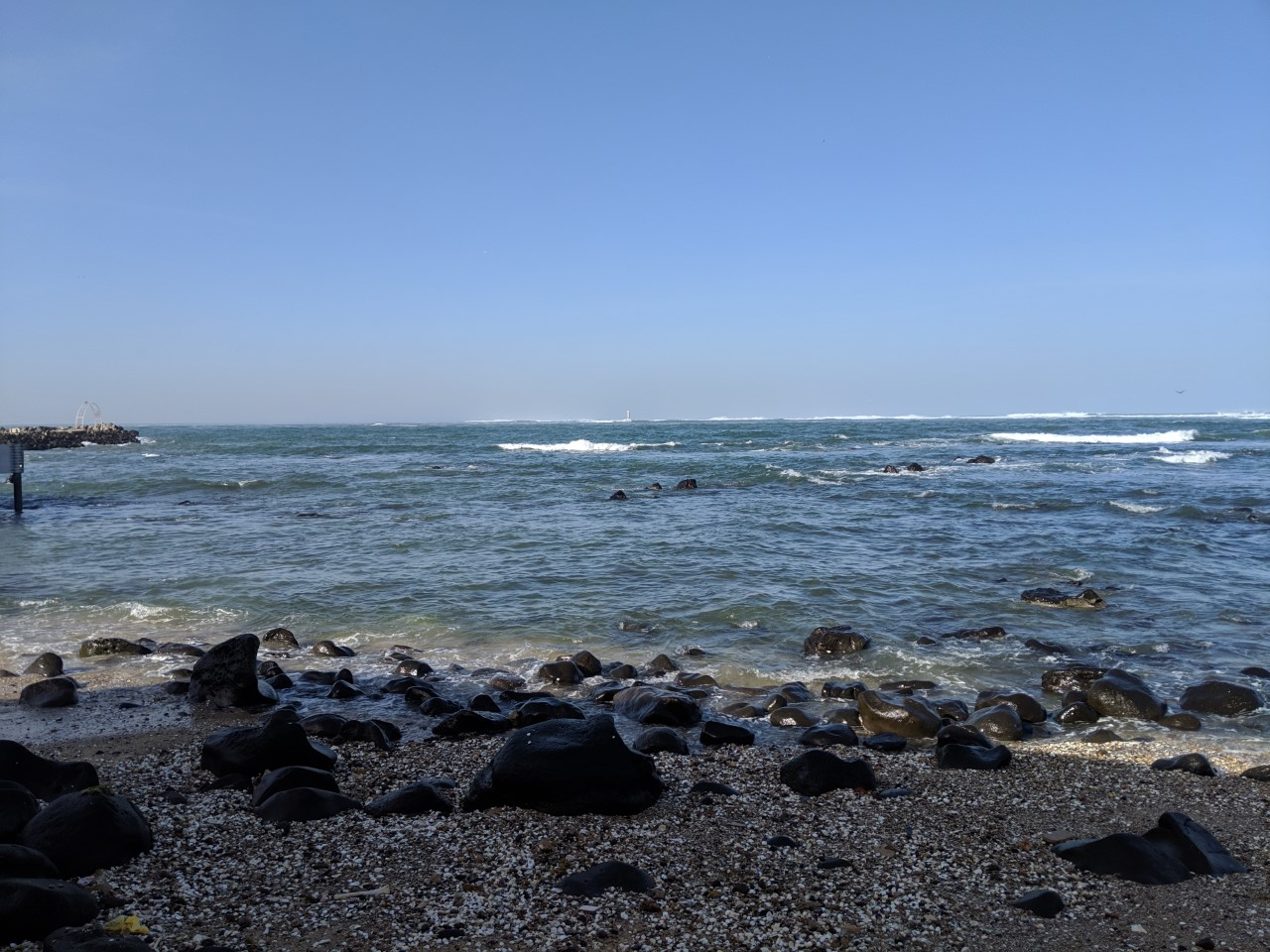 Senegal coastline