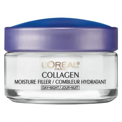 Glowing Skin at 50: My Favorite Skin Care Products - L'Oreal Paris Collagen Moisture Filler Day/Night Cream