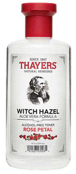 Thayers rose petal witch hazel facial toner