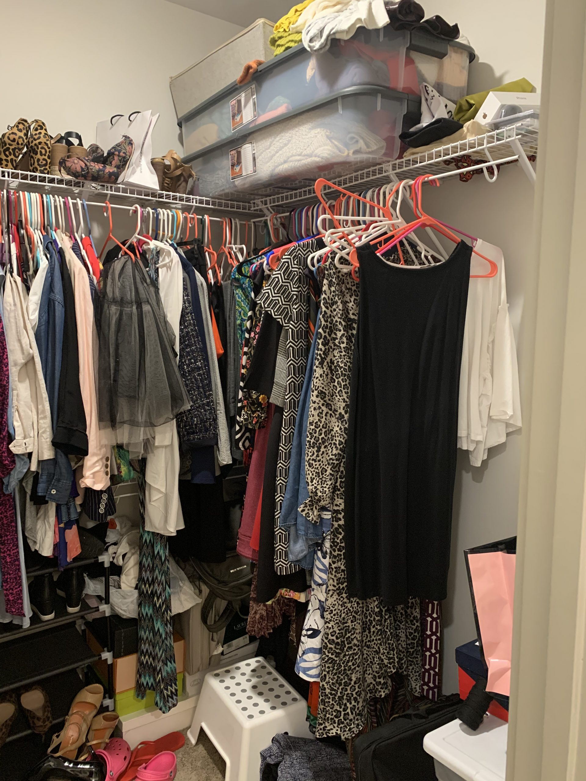 closet before .jpg scaled - Easy Apartment Closet Organization Tips