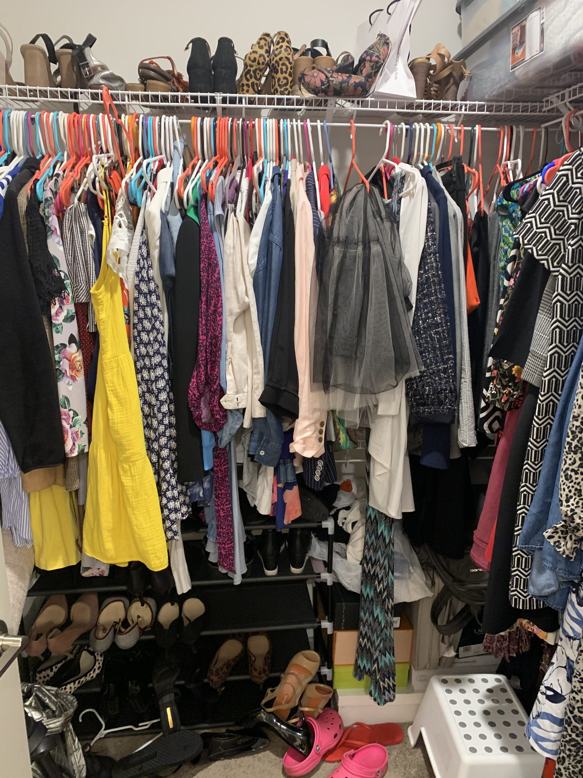 closet before scaled - Easy Apartment Closet Organization Tips