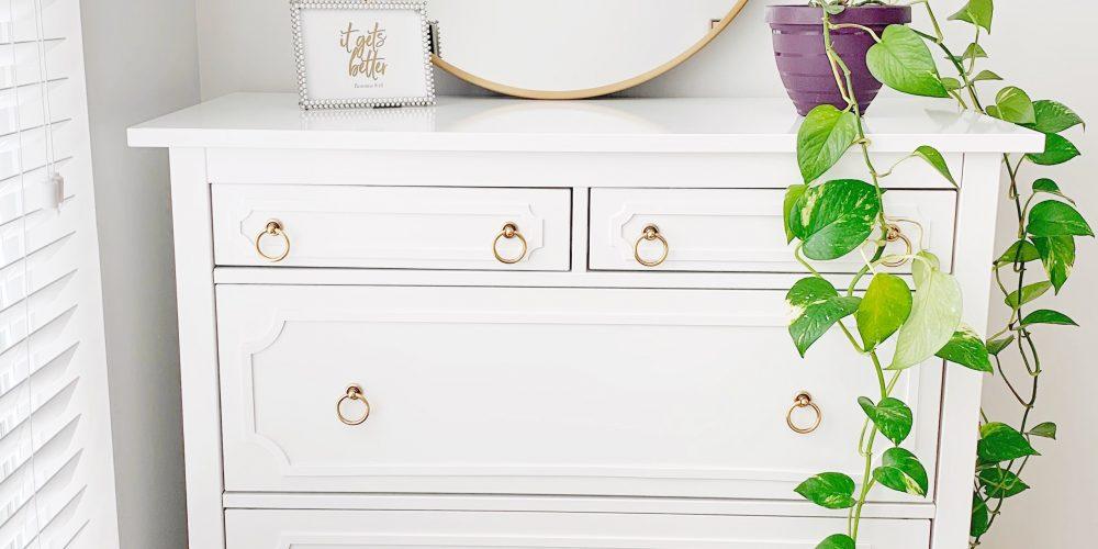 overlays final blog post 1000x500 - Easy and Simple IKEA Hemnes Dresser Hack