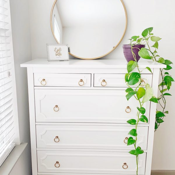 Easy and Simple IKEA Hemnes Dresser Hack