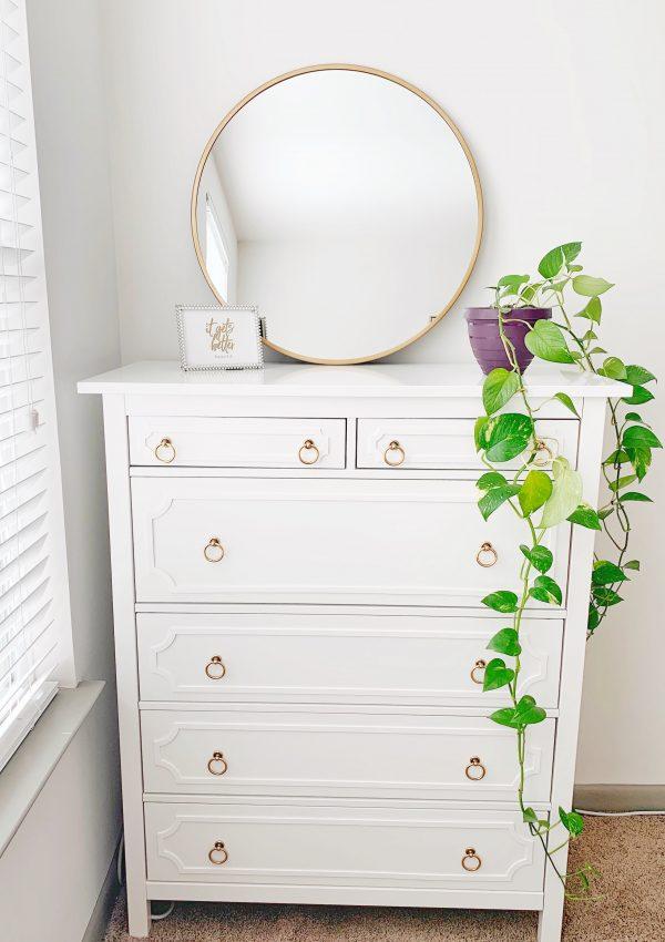 Easy and Simple IKEA Hemnes Dresser Hack